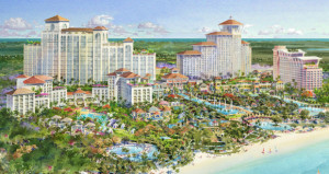 Baha Mar Celebrates Topping Off