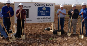 Cobblestone Hotels Breaks Ground on Three Hotels in Texas