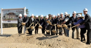 Mirbeau Inn and Spa at The Pinehills Hosts Groundbreaking Ceremony