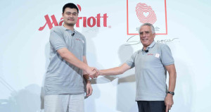 Marriott International Teams Up with Yao Foundation