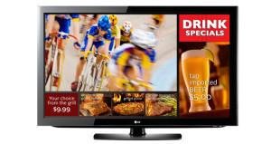 LG EzSign TV