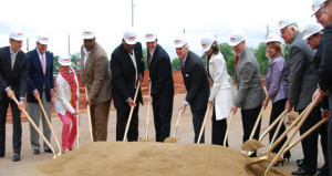Embassy Suites Tuscaloosa Downtown Breaks Ground