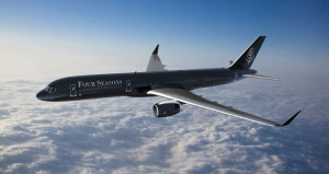 Four Seasons Introduces Fully Branded Jet