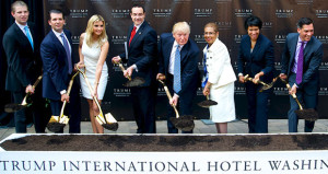 Trump Family Breaks Ground on New D.C. Hotel
