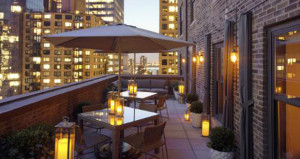 WestHouse Hotel New York Unveils The Terrace