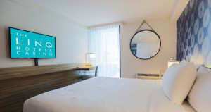 LINQ Hotel & Casino Welcomes First Guests